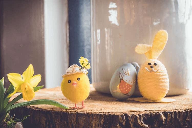 easter and isolation, social distance through Easter, New Easter Rituals